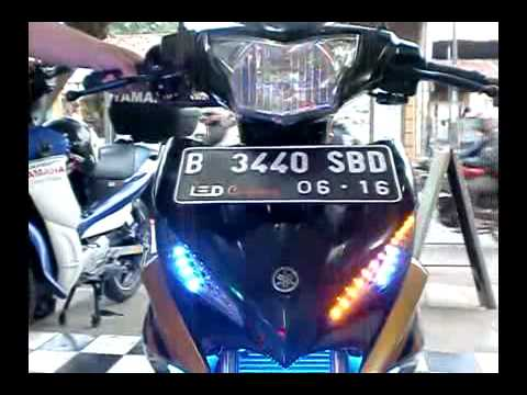lampu led senja 8 mode jupiter mx new