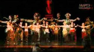 Трайбл Фьюжн танец школа танцев МАРТЭ 2011