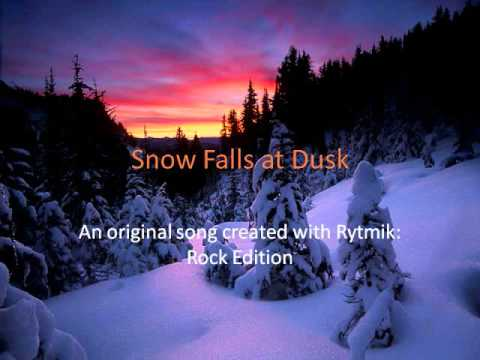 Original Rytmik Rock Edition Song: Snow Falls at Dusk by Ecto1989