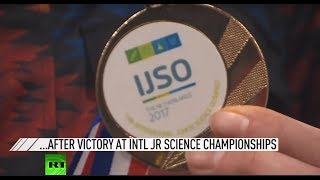 Brightest minds of Russia return home after victory at junior science championships - RUSSIATODAY