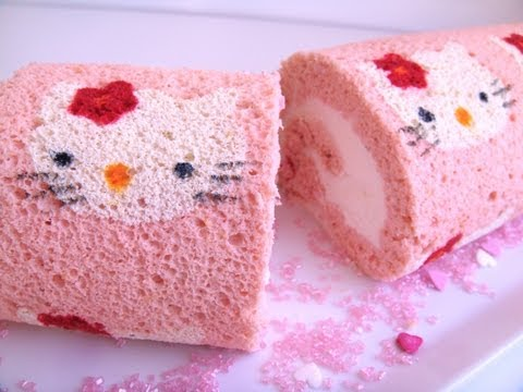 How To Make Swiss Roll Cake Dailymotion