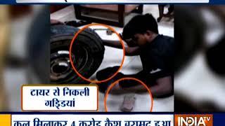 I-T Department recovers over Rs 4 crore cash in Bengaluru, Goa - INDIATV