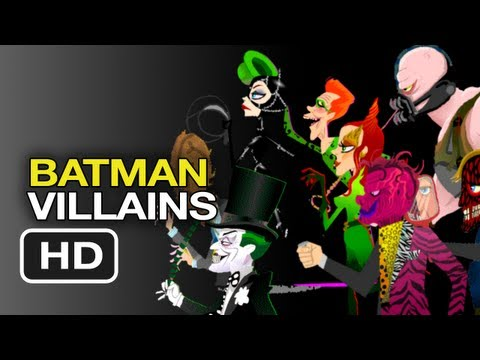 Batman Villain Gifs - Dark Knight Villains Animated Gifs HD