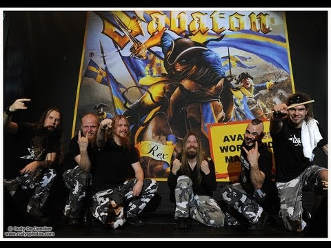 Sabaton in Antwerp 2011 - The final battle of the World War Tour