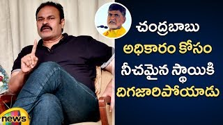 Naga Babu Says KCR is an EXCELLENT Leader then Chandrababu Naidu | Naga Babu Interview | Mango News - MANGONEWS
