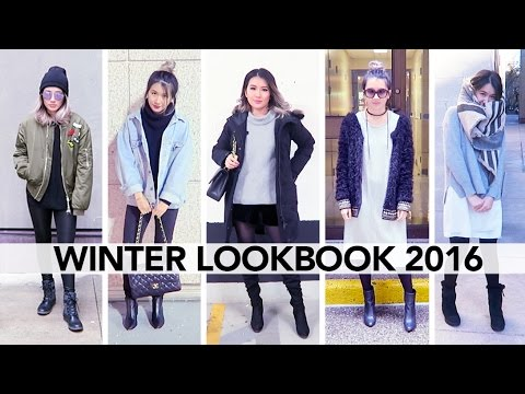 Winter Lookbook 2016 || Sylvia Jade