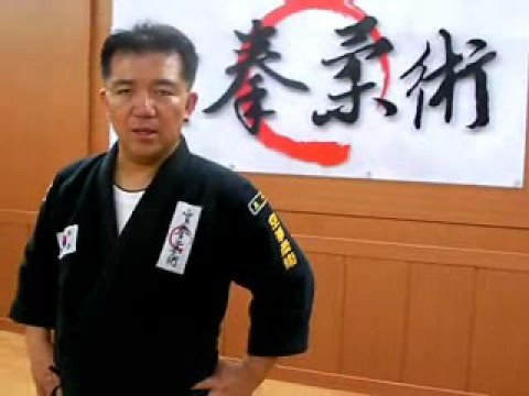 31(footwork1) ghost step Gongkwon yusul(Korea jiu jitsu Hapkido)