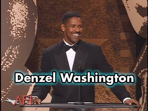 Denzel Washington Salutes Sidney Poitier at AFI Life Achievement Award