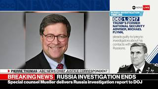 Mueller delivers report to DOJ: ABC Radio - ABCNEWS