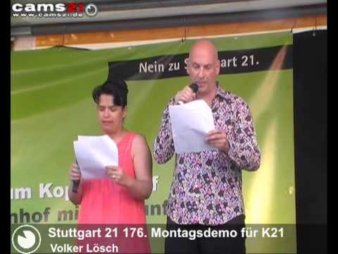 german solidarity with taksim turkey speech from Volker Lösch and Ruhsar Aydogan