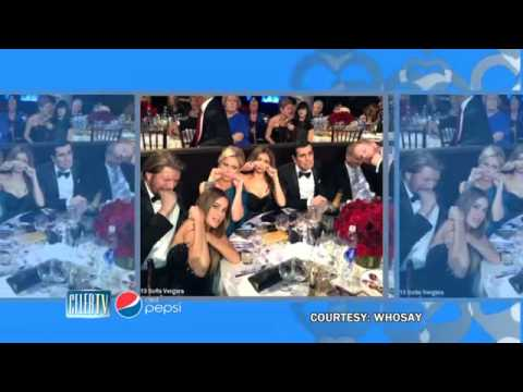 Golden Globes 2013: Exclusive Behind-the-Scenes Look - Heidi Klum, Jennifer Lopez and more