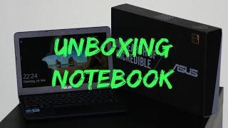 Unboxing notebook Asus E200HA | Steven TheGamer (Full HD)