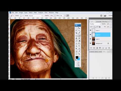 Photoshop Dramatic Portrait Effect.wmv