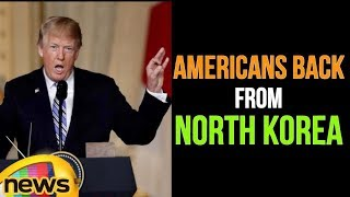 Donald Trump Speech | Fighting To Get American Citizens Back From North Korea | Mango News - MANGONEWS