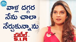 I Learnt A Lot From Them - Tanya Hope || Talking Movies With iDream - IDREAMMOVIES