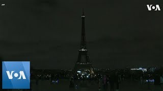Eiffel Tower Goes Dark in Tribute to Christchurch, New Zealand Victims - VOAVIDEO