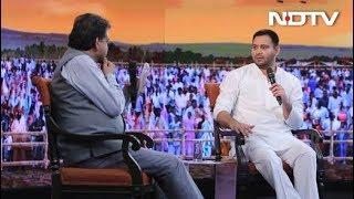 #NDTVYuva – मैं देश बचाने के लिए खड़ा हूं- तेजस्वी यादव - NDTVINDIA