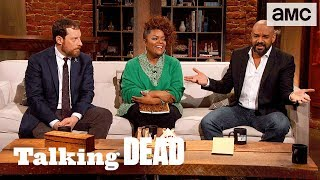 'What Would Daryl Think if Carol and the King Got Together?' Ep. 808 Fan Questions | Talking Dead - AMC