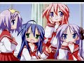 Lucky Star OP - Motteke! Sailor Fuku (FULL)