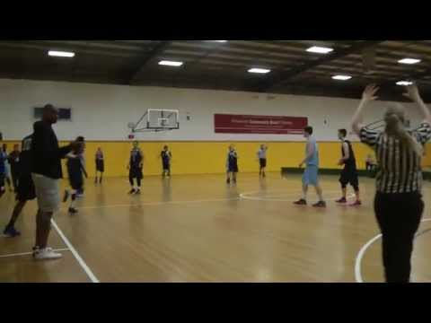Super League basketball Andrew noller hits the shot on the BUZZER