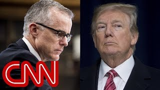 Trump celebrates Andrew McCabe firing on Twitter - CNN