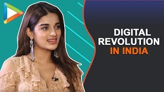 "Niddhi Agerwal: ""The IDEA is to keep WORKING because you DON'T..."" - HUNGAMA"