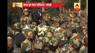 You're my family, I derive strength from you: PM celebrates Diwali with soldiers in J&K's - ABPNEWSTV