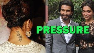 Ranveer Singh Pressurizing Deepika Padukone to remove RK tattoo ?