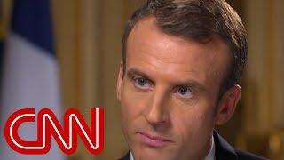 French President Macron: I always prefer having direct discussion - CNN