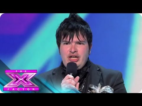 Meet Jason Brock - THE X FACTOR USA 2012