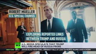 No, Trump is (still) not firing Mueller: Media 'goes into apoplexy' after angry tweets - RUSSIATODAY