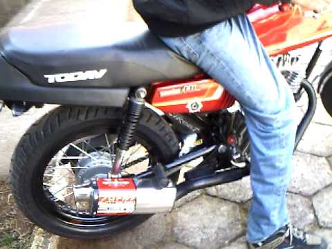 ml 125  tuning ano 1985 MOTARD