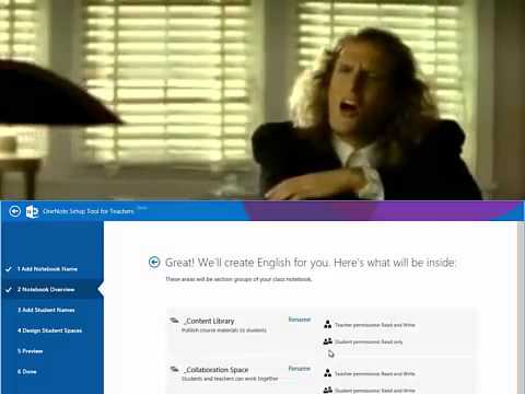 OneNote Setup Tool for teachers ComeBack