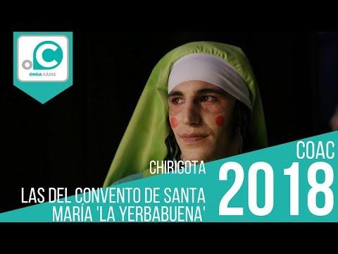 La agrupación Los del convento de Santa María La Yerbabuena llega al COAC 2018 en la modalidad de Chirigotas. Primera actuación de la agrupación para esta modalidad.