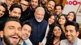 Bollywood stars meet PM Narendra Modi to discuss the impact of films on youth - ZOOMDEKHO