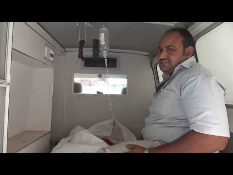شاهد.. مأساة ضحايا القصف المدفعي لمليشيات الحوثي الذي طال مدينة حيس
