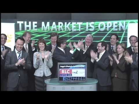 Regal Lifestyle Communities Inc. (RLC:TSX) opens Toronto Stock Exchange, November 19, 2012.