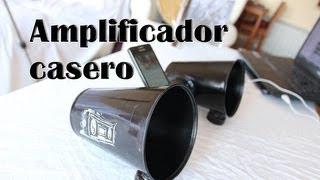 Amplificador casero para el celular o móvil