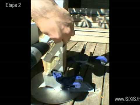 Claustras - Kit de fixation pour palissade bois