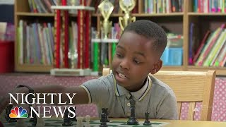 Meet The 8-Year-Old Refugee Who Won New York State's Chess Championship | NBC Nightly News - NBCNEWS