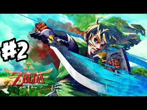 The Legend of Zelda: Skyward Sword Walkthrough Part 2 HD - Bird?! - Let's Play (Wii Gameplay)
