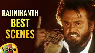 Rajinikanth Best Scenes | Basha Telugu Movie | Rajinikanth | Nagma | Raghuvaran | Mango Videos - MANGOVIDEOS