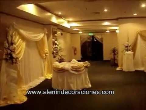 Decoración de bodas - ALENIN.wmv
