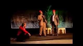 """مسرحية """"راجعين يا مصر"""" على مسرح الهناجر"""