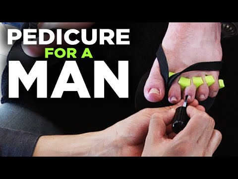 Men's Pedicure - Relaxing Grooming and Massage of the Feet | Style Progress