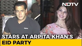 Salman, Jacqueline & Other Stars At Arpita Khan's Eid Party - NDTV