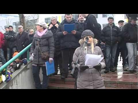 05 - Biljana Savić | Veliki protest - Naselje Stepa Stepanović 07.02.2015.