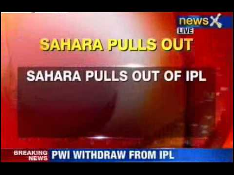 Sahara Pune Warriors pulls out of IPL