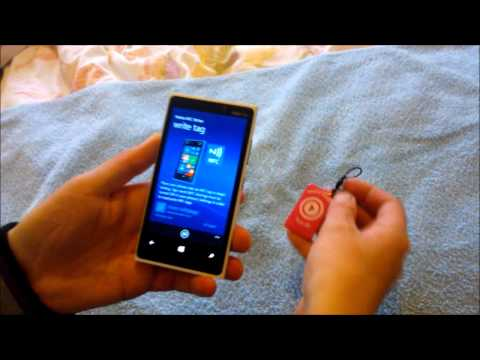 NFC Tags from Nokia Music