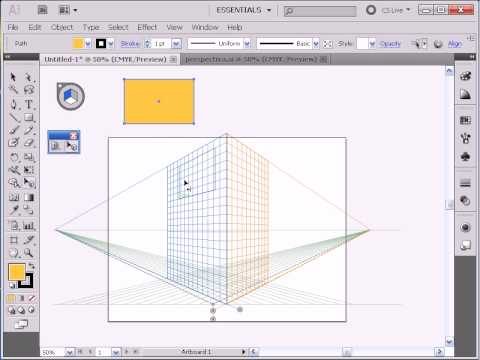 Adobe Illustrator CS5 - Perspective Tool -EtsLFS76FSE